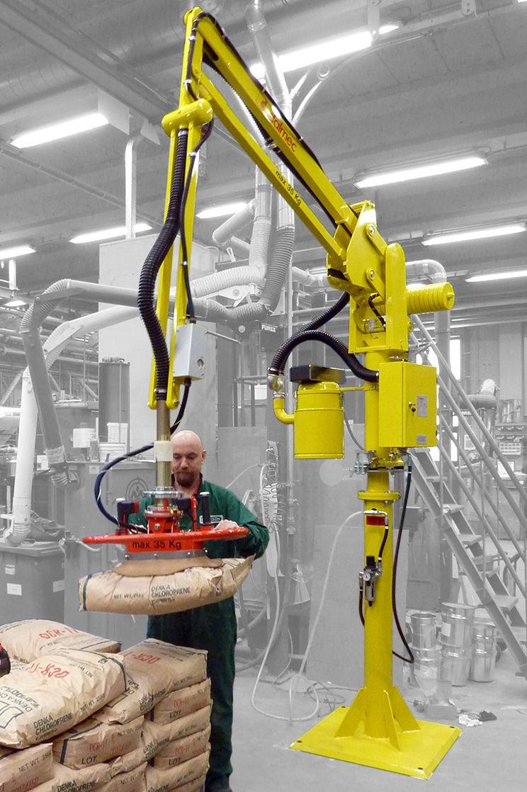 Ergonomic Industrial Manipulator : Partner ps dalmec industrial manipulators ergonomic