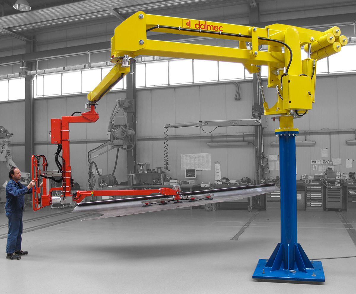 Manipulators For Lifting : Megapartner dalmec industrial manipulators and material