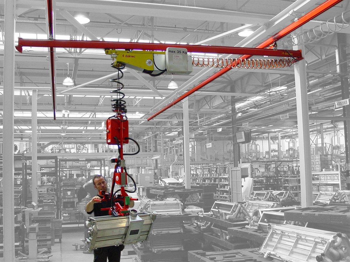 Manipulatory przemysłowy Minipartner - Balanser na podwójnych linkach - Manipulatory DALMEC (2)