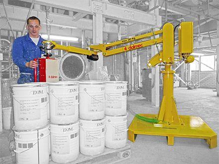 Balanser pneumatyczny Micropartner - Maszyny do podnoszenia - Manipulatory DALMEC (11)