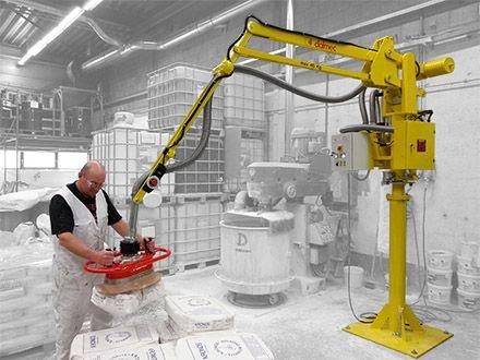 Podnośnik pneumatyczny Partner PS - Manipulatory przemysłowy - Manipulatory DALMEC (11)