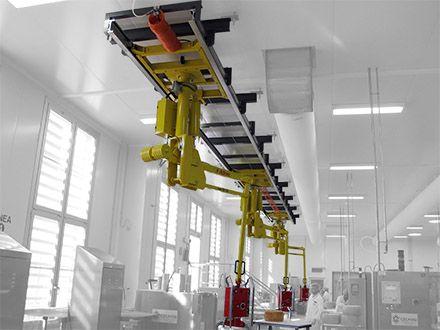 Podnośnik pneumatyczny Partner PS - Manipulatory przemysłowy - Manipulatory DALMEC (13)