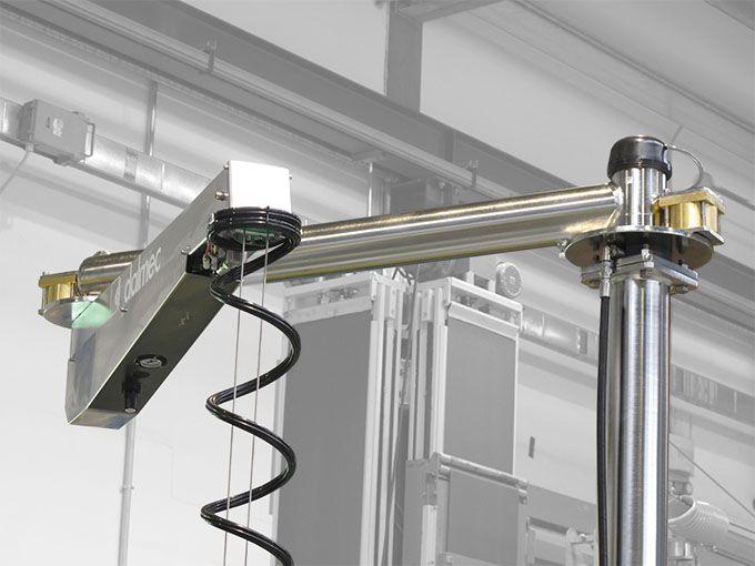 Balanser pneumatyczny typu Posivel - Balanser linkowy do kubłów Dalmec - Manipulatory DALMEC