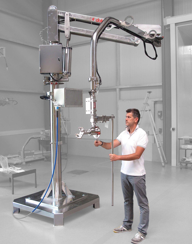 Manipulator pneumatyczny Partner Equo - Przemieszczanie ładunków - Manipulatory DALMEC (19)