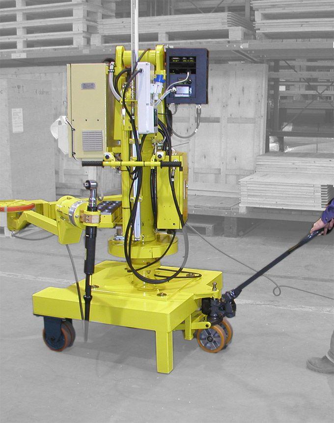 Podnośnik pneumatyczny Partner PS - Manipulatory przemysłowy - Manipulatory DALMEC (14)