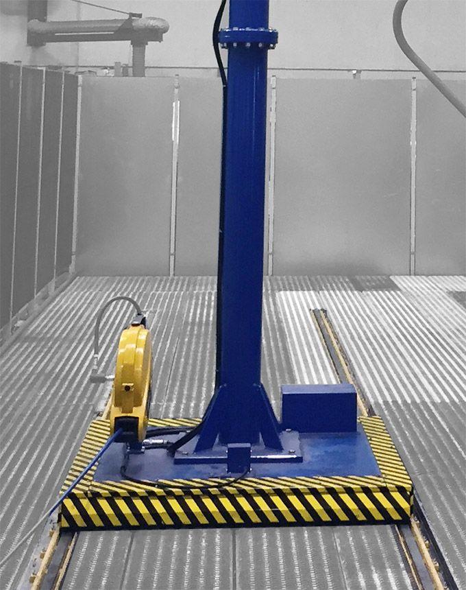 Manipulator równoważący ciężar Posifil na podwójnych linkach stalowych - Manipulatory DALMEC (16)