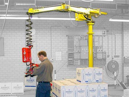 Manipulatory pneumatyczny linkowe - Balanser linkowy do kubłów Dalmec - Manipulatory DALMEC (5)
